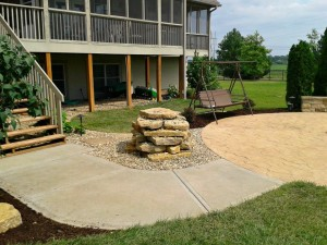 kansas city backyard hardscapes
