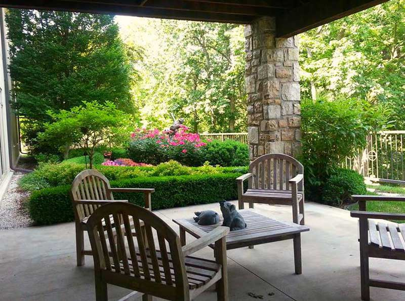 backyard patio landscaping