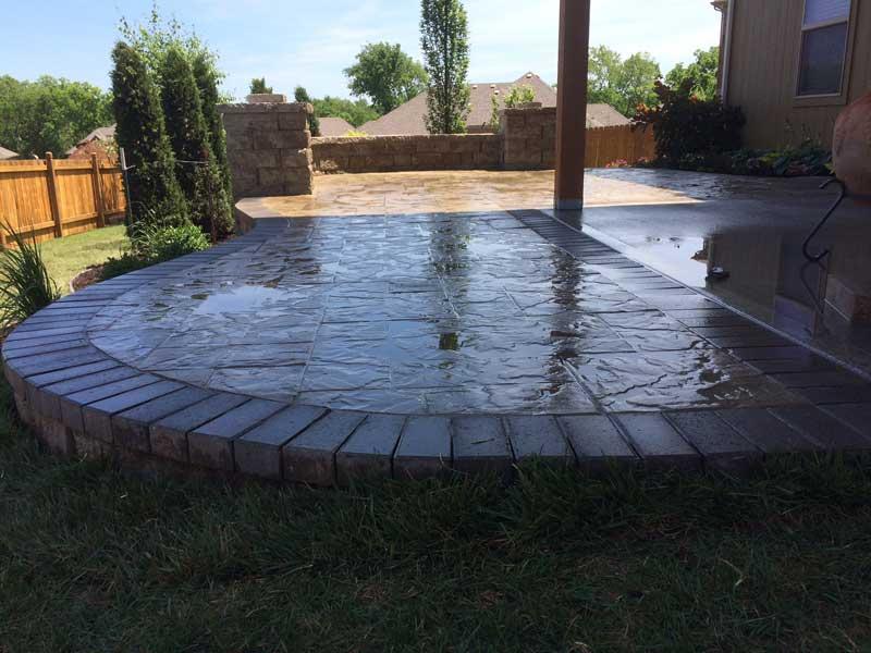 landscaping patio design